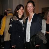Bella Freud and Rebecca Hall