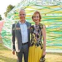 Hans-Ulrich Obrist and Julia Peyton-Jones