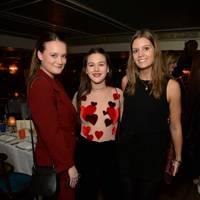 Rose Macdonald Buchanan, Marina Hambro and Marina Comninos