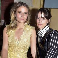 Dianna Agron and Stacy Martin