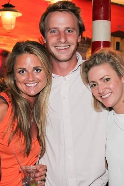 Georgia Broughton, Robbie Campbell and Freya Broughton