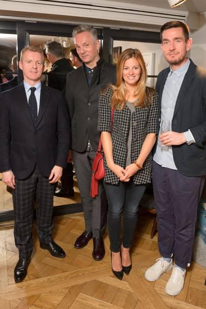 Simon Maloney, Josh Wood, Serena Hood and Jonathan Davies