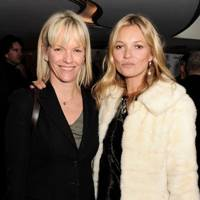 Elisabeth Murdoch and Kate Moss