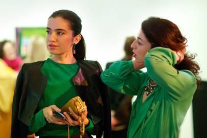 Jamila Askarova and Mila Askarova