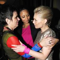 Eve Ensler, Thandie Newton and MyAnna Buring
