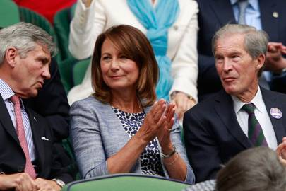 Michael Middleton, Carole Middleton and Anthony Henman