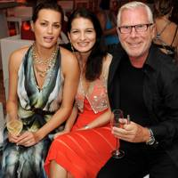 Yasmin Le Bon, Yasmin Mills and Robert Clift