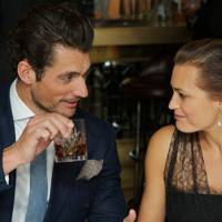 David Gandy and Yasmin Le Bon