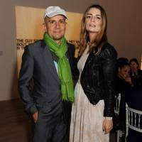 Marc Quinn and Mischa Barton