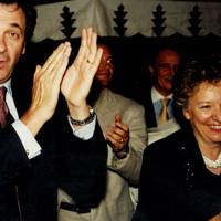 Marco Palmieri and Mrs Michael Portillo
