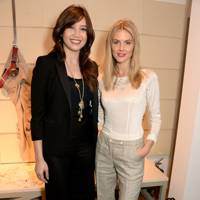 Daisy Lowe and Donna Air