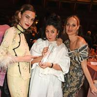 Alexa Chung, Simone Rocha and Lauren Santo Domingo