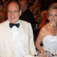 Prince Albert II and Princess Camilla de Bourbon Two Sicilies