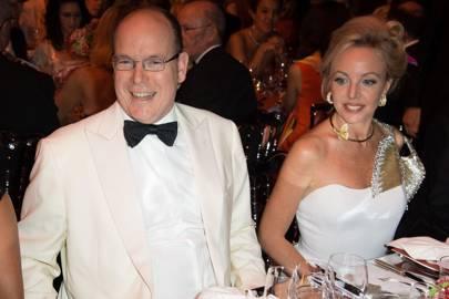 Prince Albert II and Princess Camilla de Bourbon Two Sicilies