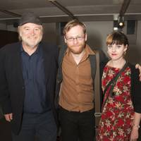 Brendan Gleeson, Brian Gleeson and Ruth Clinton
