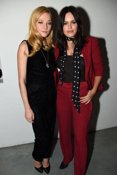 Clara Paget and Atlanta de Cadenet Taylor
