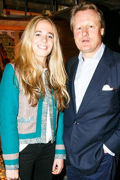 Sophia Davies and Guy Morrison
