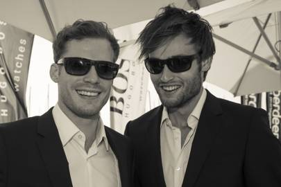 Alex Reid and Douglas Booth