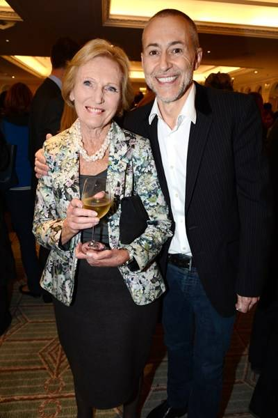 Mary Berry and Michel Roux Jr