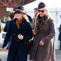 Autumn Phillips and Zara Tindall