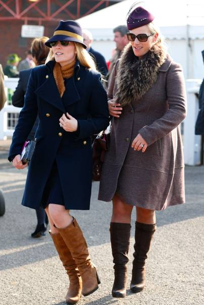 Autumn Phillips and Zara Tindall