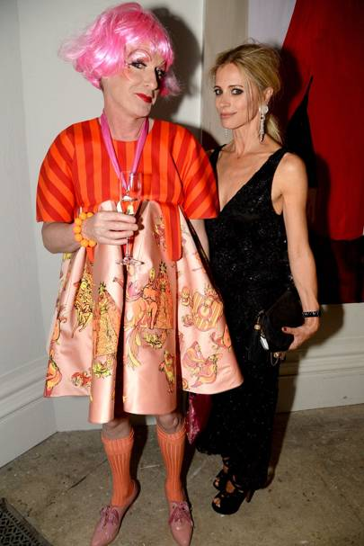 Grayson Perry and Laura Bailey