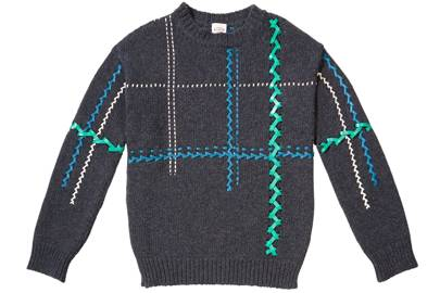 WOOL JUMPER, £930, BY TOD'S