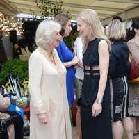 The Duchess of Cornwall and Alannah Weston