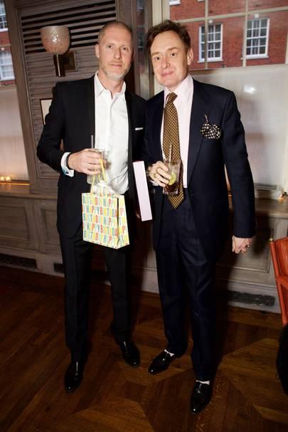 Jean-David Malat and Nick Foulkes