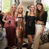 Lauren Santo Domingo, Georgia May Jagger, Lily Donaldson and Bianca Brandolini d'Adda