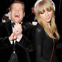 James Corden and Taylor Swift