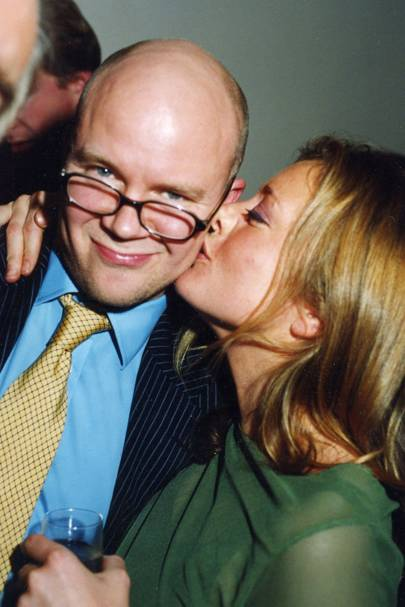 The Hon Toby Young and Tiffanie Darke