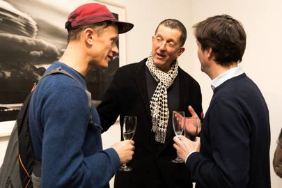 Ivo Gormley, Sir Antony Gormley and Tom Barber
