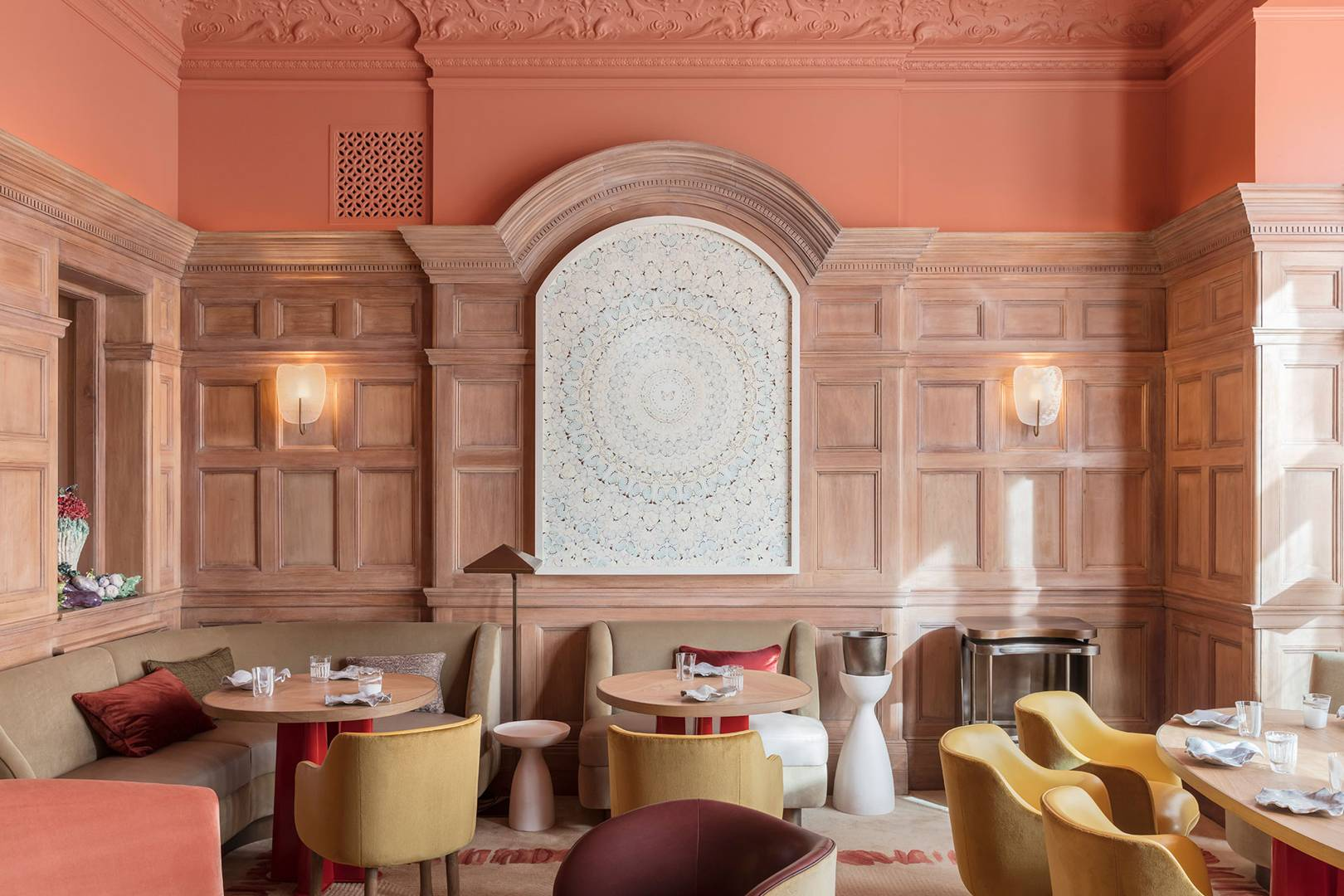 Two Michelin-starred favourite Hélène Darroze at the Connaught has been revamped and reopened