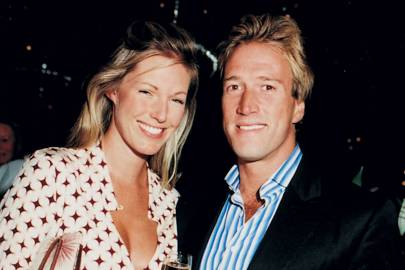 Marina Hunt and Ben Fogle