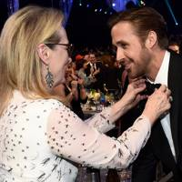 Meryl Streep and Ryan Gosling