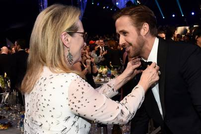 Meryl Streep and Ryan Gosling