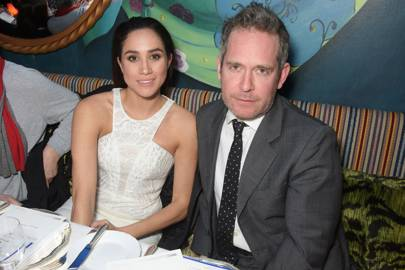 Meghan Markle and Tom Hollander