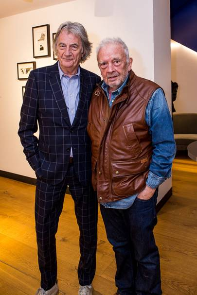 Paul Smith and David Bailey