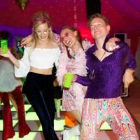 Annabel Holden, Hanna Callaghan and Bertie Cornett