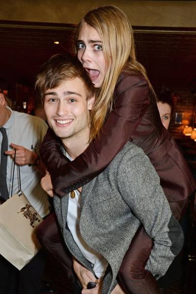Douglas Booth and Cara Delevingne