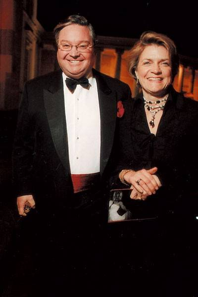 Peter Wood and Mrs Peter Wood