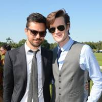 Dominic Cooper and Matt Smith