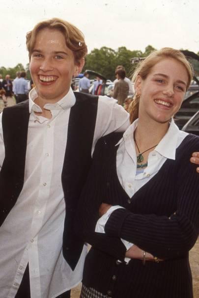 Fritz von Westenholtz and Laura Parker Bowles