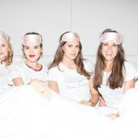 Rosie Fortescue, Frankie Herbert, Sabrina Percy and Natalie Salmon