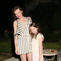 Milla Jovovich and Ever Anderson