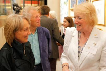 Anna French, John French and Patricia Parker