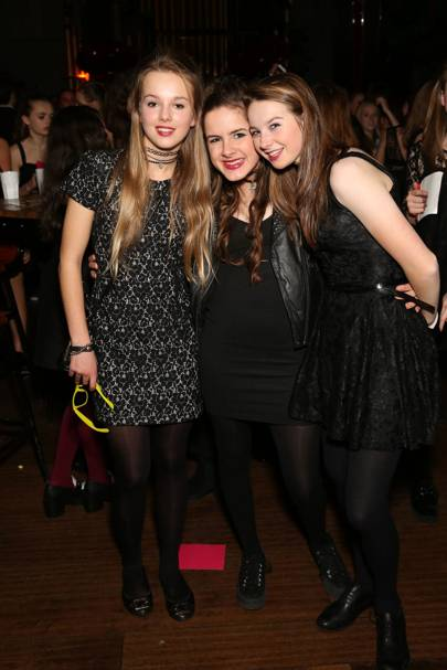 Emilia Harley, Daphne Schrager and Tash Bailey