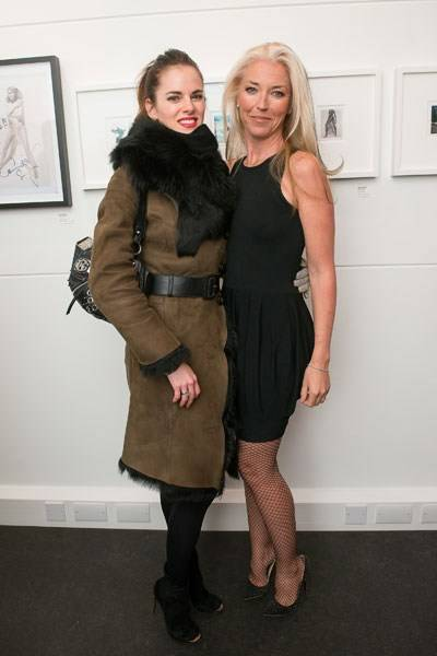 Amy Bailey and Tamara Beckwith