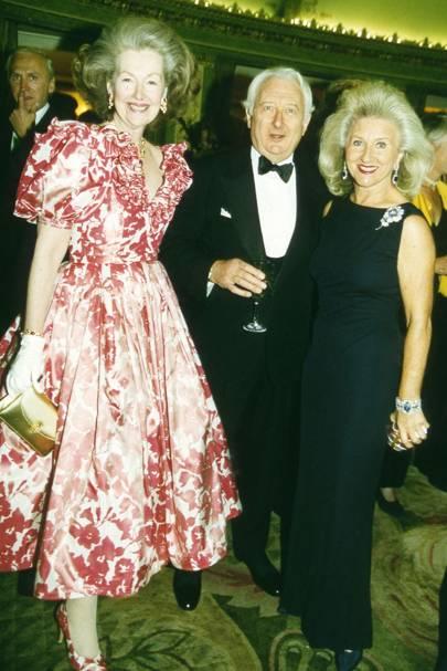 Raine Cometesse Jean-François de Chambrun, Jeffrey Rose and Lady Leigh